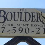 The Boulders Sign