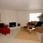 Towne Oaks Living Area