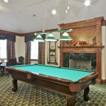 Villas by the Lake Senior Housing Billiards
