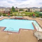 Villas by the Lake Senior Housing Pool Area