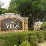Villas by the Lake Senior Housing Sign