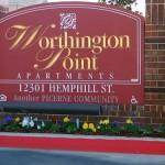 Worthington Point Sign